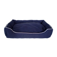 Dog Gone Smart Bed- Lounger- Blue- Medium