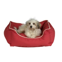 Dog Gone Smart Bed- Lounger- Red- Medium