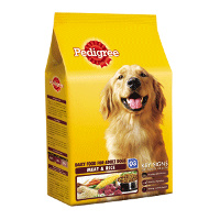 Pedigree Adult Dog Meat and Rice- 3kg