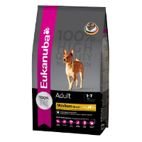 Eukanuba Adult Medium Breed- 15kg