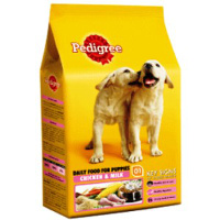 Pedigree Puppy Dog Chicken and Milk-400gms