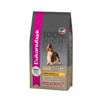 Eukanuba Adult Small and Medium Lamb and Rice-15kg